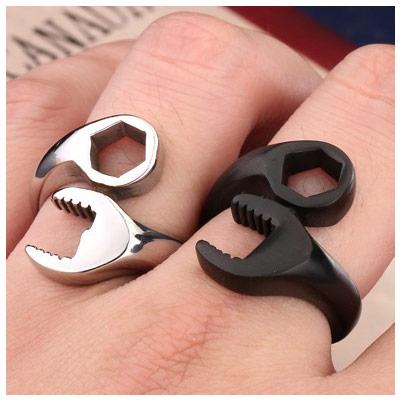 Перстень (кольцо) в виде гаечного ключа