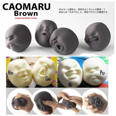 Антистрессовые эластичные игрушки-головы Caomaru